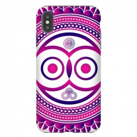iPhone Xs Max  pink mandala owl by TMSarts