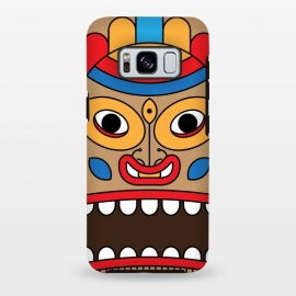Galaxy S8+  hawaiian tiki by TMSarts