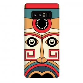 Galaxy Note 8  aztec mayan mask by