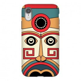 iPhone Xr  aztec mayan mask by TMSarts