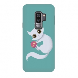 Galaxy S9+  Christmas kitty by Laura Nagel