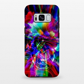 Galaxy S8+  Glitch skull by Haris Kavalla