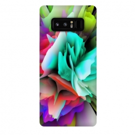 Galaxy Note 8  blooming flower by Haris Kavalla