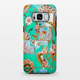 Galaxy S8 plus  Floral Morocco by