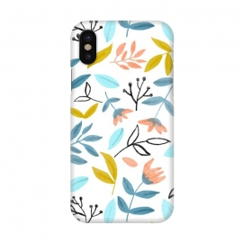 iPhone X  Proud Florals by Uma Prabhakar Gokhale