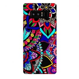 Galaxy Note 8  mandala design henna ?design colorful decorative doodling by Josie George