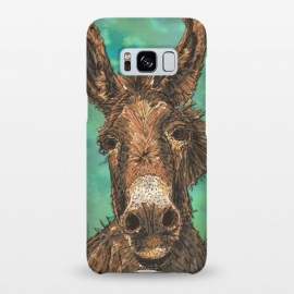 Galaxy S8+  Little Brown Donkey by Lotti Brown