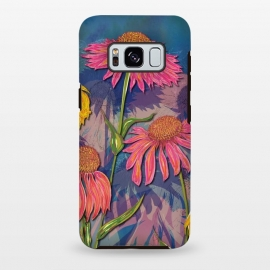 Galaxy S8 plus  Pink Coneflowers by