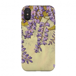 iPhone Xs / X  Wisteria by Lotti Brown (wisteria,floral,flower,garden)