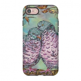 iPhone 8/7  Loving Ring Doves by Lotti Brown