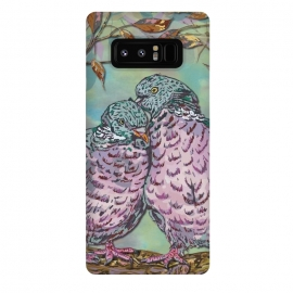Galaxy Note 8  Loving Ring Doves by
