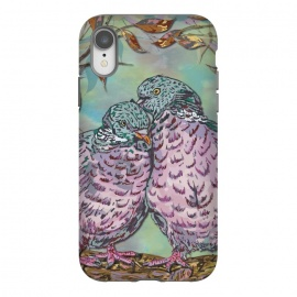 iPhone Xr  Loving Ring Doves by Lotti Brown