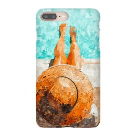 iPhone 8/7 plus  By The Pool All Day by  (watercolor, pool, swimming, swim, beach, water, waves, vacay, relax, travel, fall, ocean, sea, sand, fashion, lifestyle)