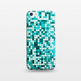 iPhone 5C  Pool Tiles by Uma Prabhakar Gokhale