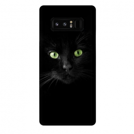 Galaxy Note 8  Cat, green eyes by Bledi