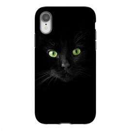 iPhone Xr  Cat, green eyes by Bledi