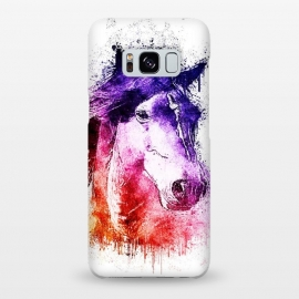 Galaxy S8+  watercolor horse by Ancello