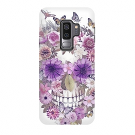 Galaxy S9+  flower skull by Ancello