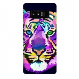 Galaxy Note 8  popart tiger by Ancello