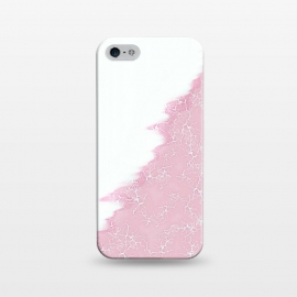 iPhone 5/5E/5s  Light pink crack by Jms