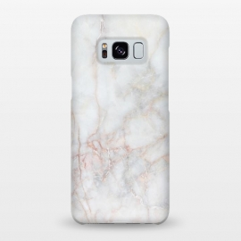 Galaxy S8+  White Marble IV by amini54