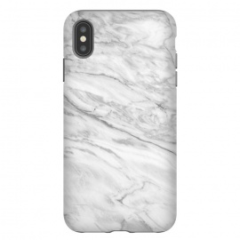 iPhone Xs Max  White Marble VIII by amini54