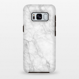 Galaxy S8+  White Marble IX by amini54