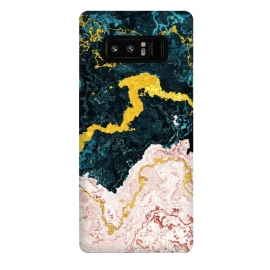 Galaxy Note 8  Abstract Marble VI by Art Design Works