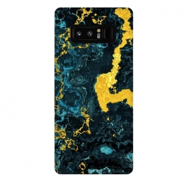 Galaxy Note 8  Abstract Marble VII by Art Design Works