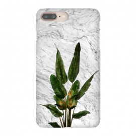 iPhone 8/7 plus  Bird of Paradise Plant on White by