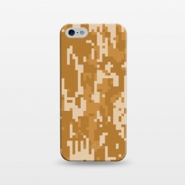 iPhone 5/5E/5s  8 Bit Desert Cammo by