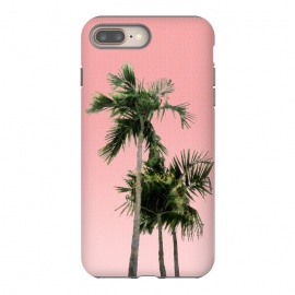 Palm Trees on Pink by amini54
