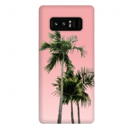 Galaxy Note 8  Palm Trees on Pink by amini54