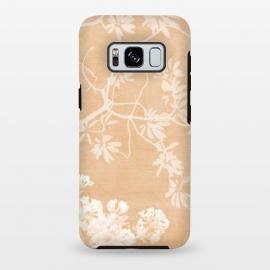 Galaxy S8 plus   Foliage on Orange by