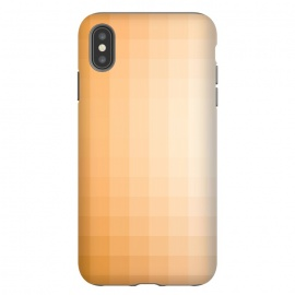 iPhone Xs Max  Gradient, Amber and White by amini54