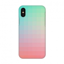 iPhone X  Gradient, Pink and Teal by amini54
