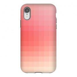 iPhone Xr  Gradient, Pink and White by