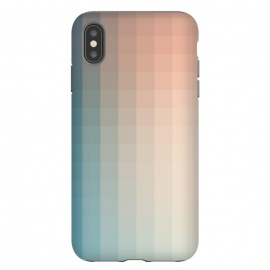 iPhone Xs Max  Gradient, Turquoise and Pink by amini54