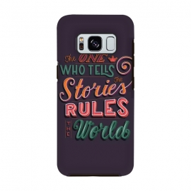 The one who tells the stories rules the world by Jelena Obradovic