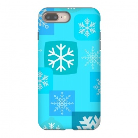 BLUE WINTER PATTERN by MALLIKA