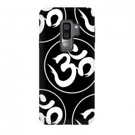Galaxy S9 plus  om black white by