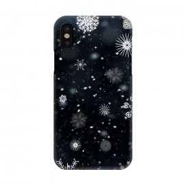 iPhone X  snow love by