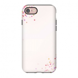 iPhone 8/7  pink star glitter by MALLIKA