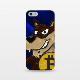 iPhone 5/5E/5s  Bitcoin Wolf by Carlos Maciel