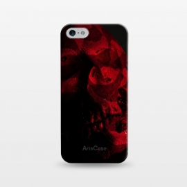 iPhone 5/5E/5s  Scary Skull by Carlos Maciel