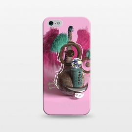 iPhone 5/5E/5s  Pink Monster by Carlos Maciel