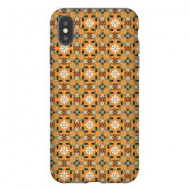 iPhone Xs Max  Cela by  (graphic design, pattern, morroco, moroccan, greece, greek, crystals, beautiful, soulful, seamless, mondala)