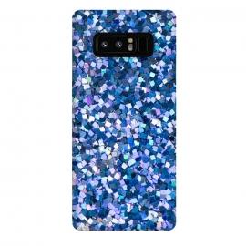 Galaxy Note 8  BLUE GLITTER 2  by