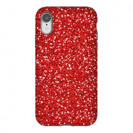 iPhone Xr  RED GLITTER by MALLIKA