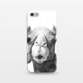 iPhone 5/5E/5s  Black and White Camel by Alemi